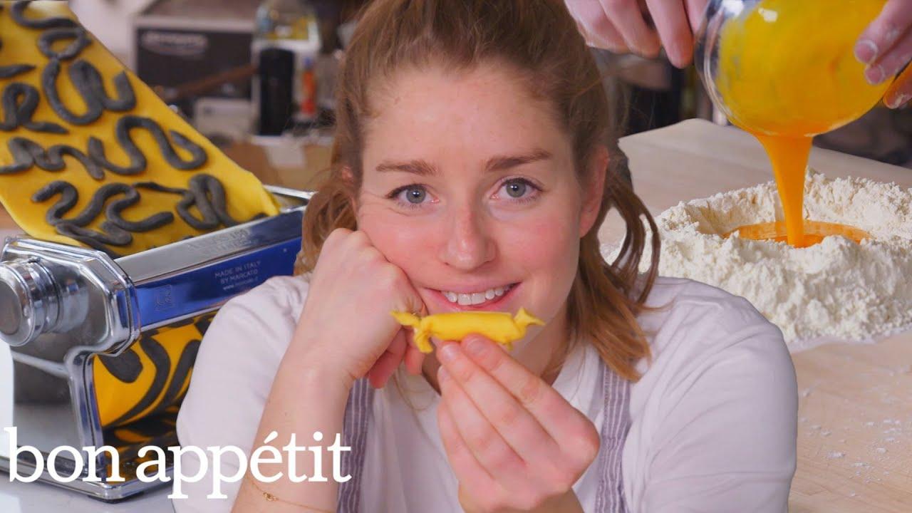 Pro Chef Tries to Invent New Pasta Shapes | Bon Appétit