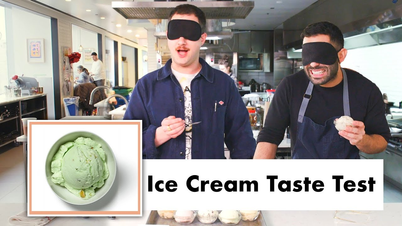 Pro Chefs Blindly Taste Test Ice Cream | Test Kitchen Talks | Bon Appétit