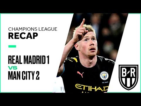Real Madrid 1-2 Manchester City: Champions League Recap with Goals, Highlights and Best Moments