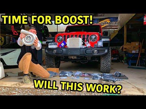 Rebuilding A Wrecked 2020 Jeep Gladiator Rubicon Part 12