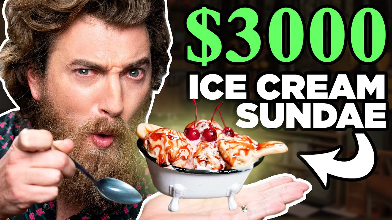 Recreating The Most Expensive Desserts In The World (TASTE TEST)