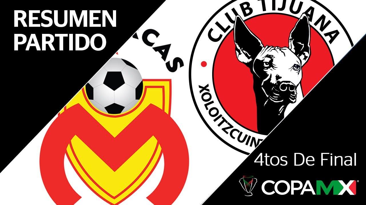 Resumen   Morelia vs Tijuana   Copa MX – Cuartos de Final