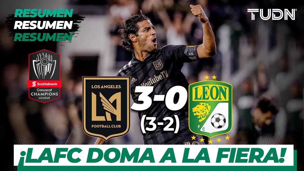 Resumen y goles | Los Ángeles FC 3 – 0 León | CONCACAF Champions – 8vos Vuelta | TUDN