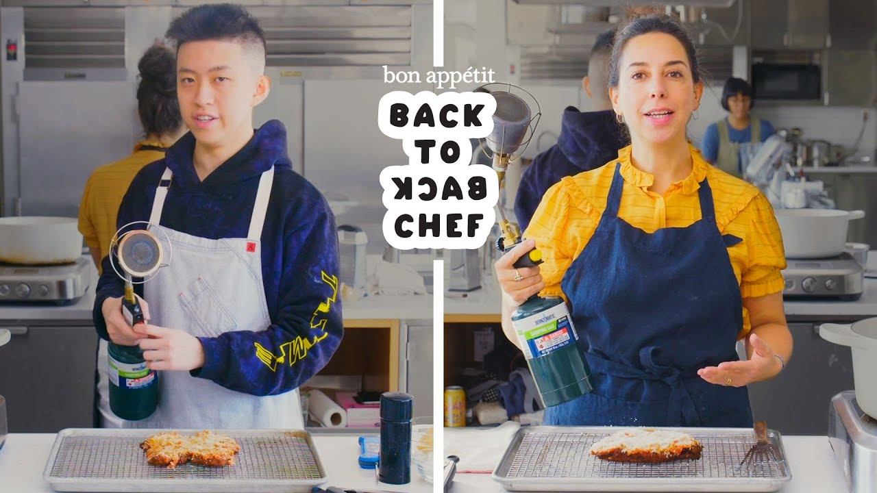 Rich Brian Tries to Keep Up with a Professional Chef | Back-to-Back Chef | Bon Appétit