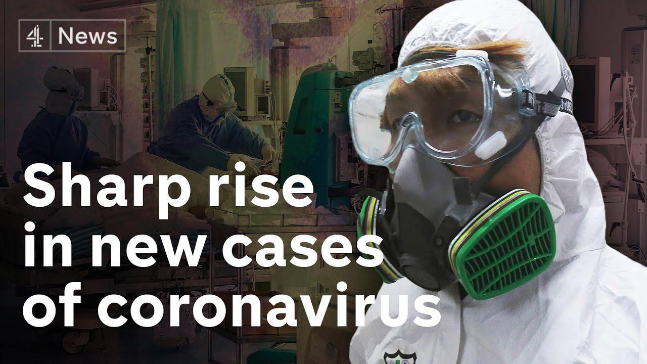 Sharp rise in coronavirus cases alarms world health officials