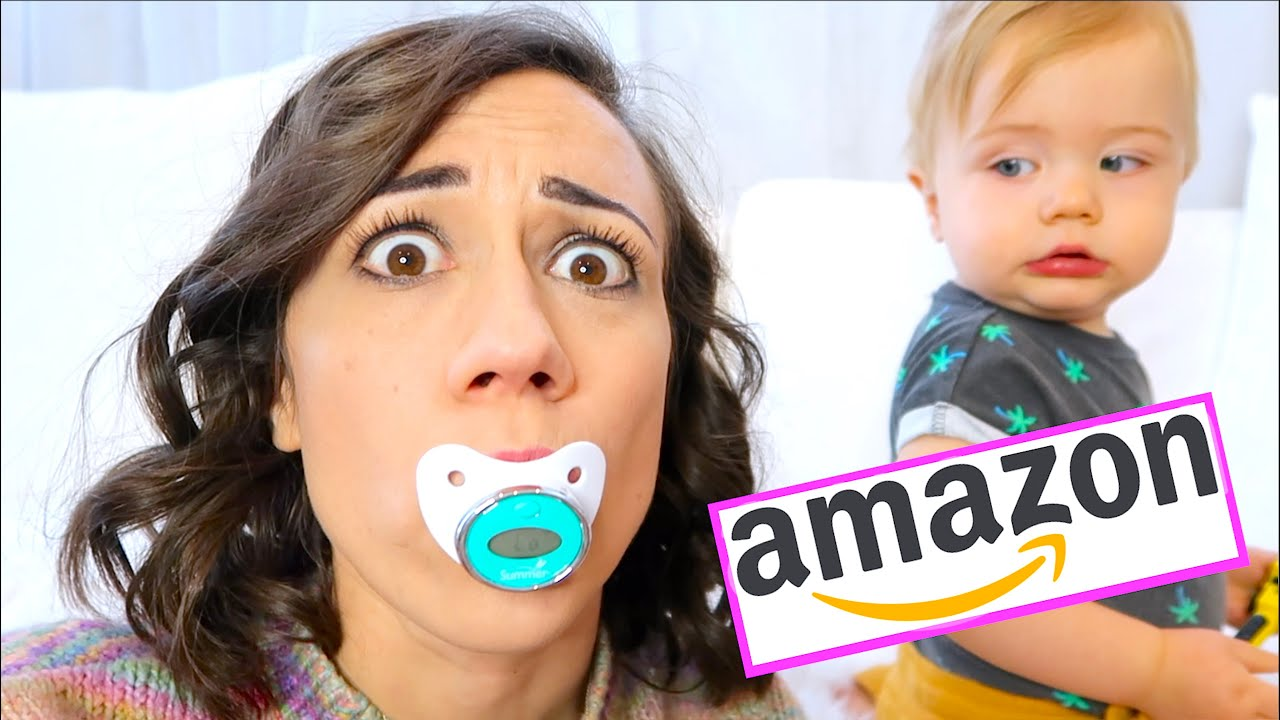TESTING WEIRD AMAZON BABY PRODUCTS! again…