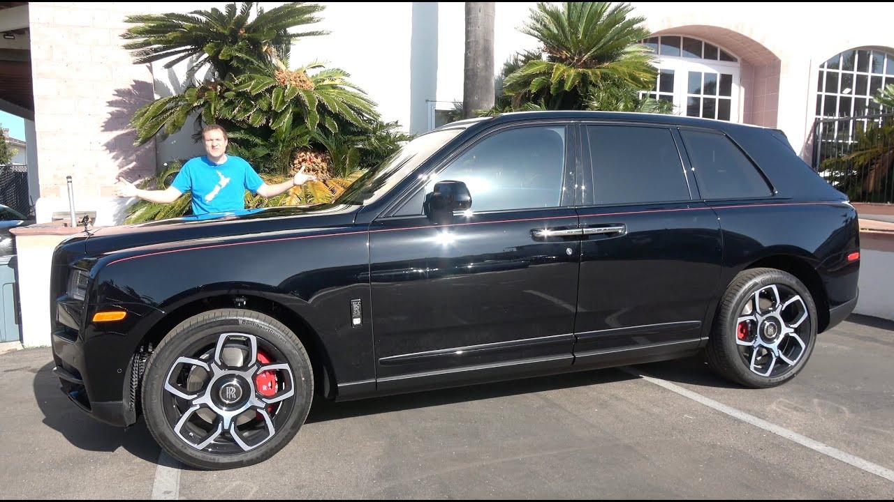 The 2020 Rolls-Royce Cullinan Black Badge Is a $480,000 Ultra Luxury SUV