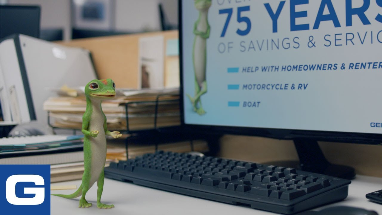 The Gecko Stays Late At Work – GEICO Insurance