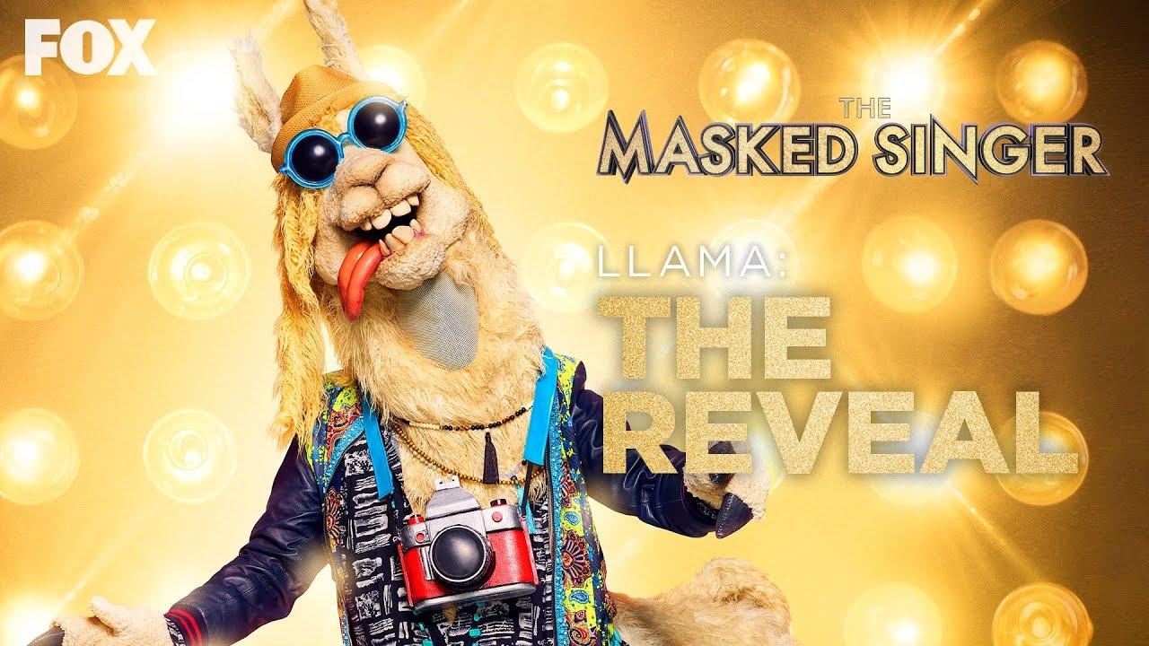 The Llama Is Revealed As Drew Carey | Season 3 Ep. 2 | THE MASKED SINGER