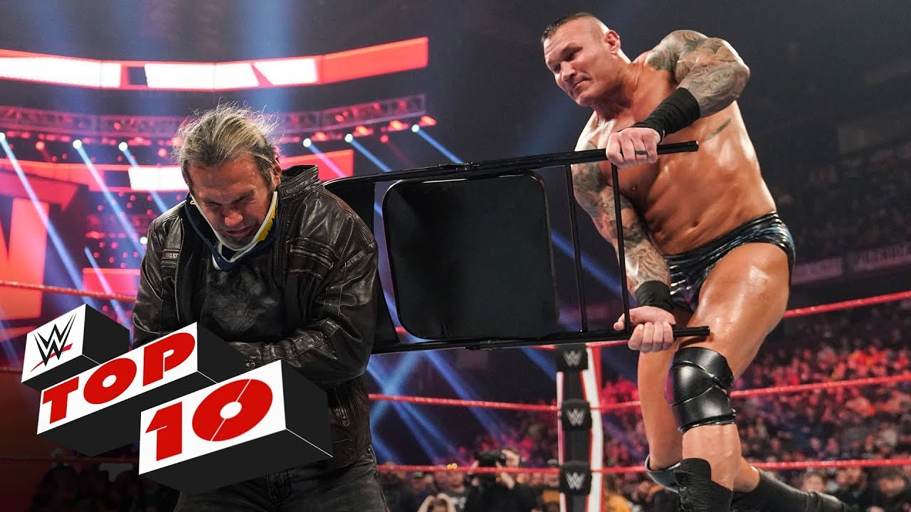 Top 10 Raw moments: WWE Top 10, Feb. 17, 2020