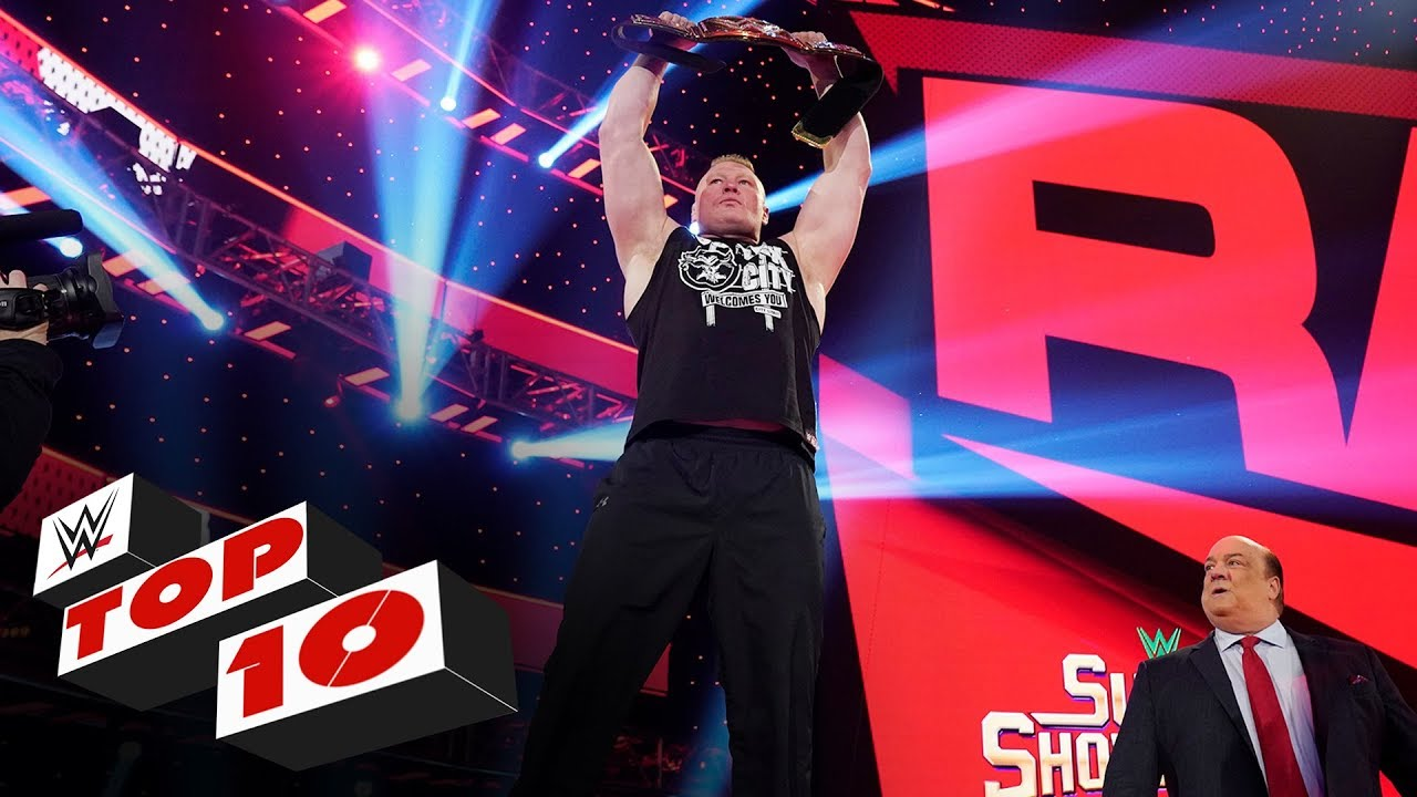 Top 10 Raw moments: WWE Top 10, Feb. 24, 2020