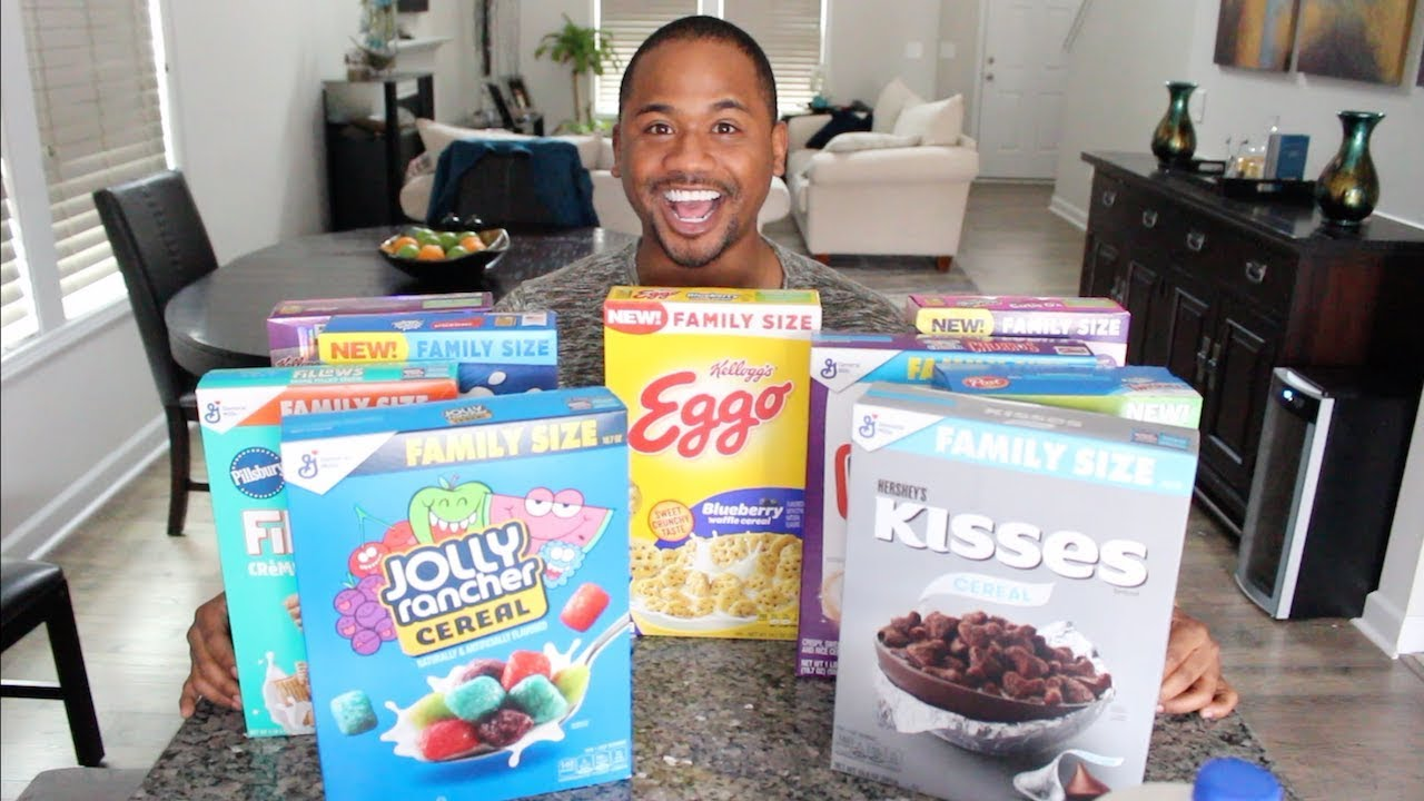 Trying ALL NEW WEIRD CEREALS OF 2020 | Taste Test | Alonzo Lerone
