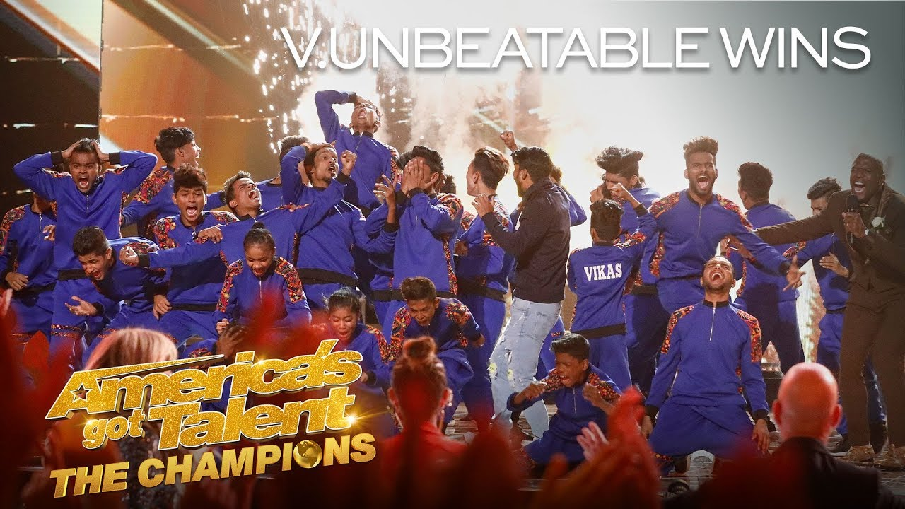 V.UNBEATABLE WINS AGT: THE CHAMPIONS SEASON 2! – America's Got Talent: The Champions