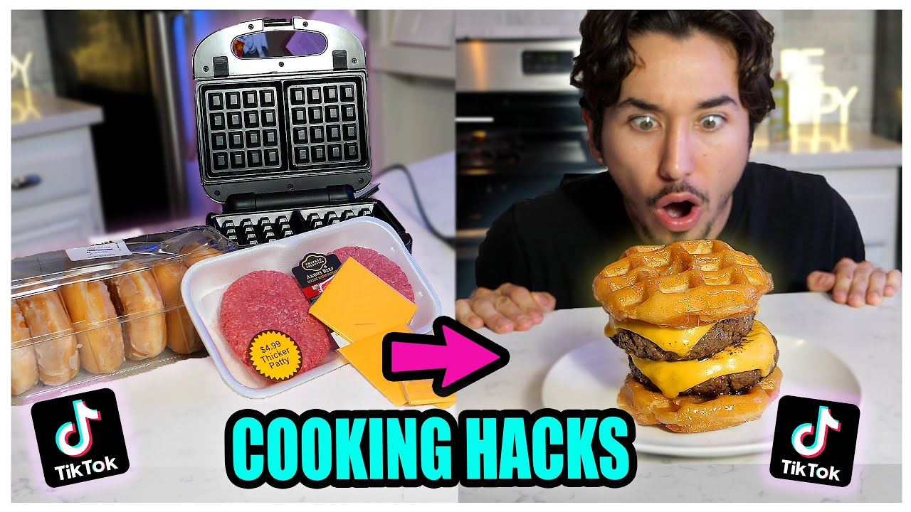We TASTED Viral TikTok Cooking Life Hacks… (MOUTH WATERING!) *Part 3*