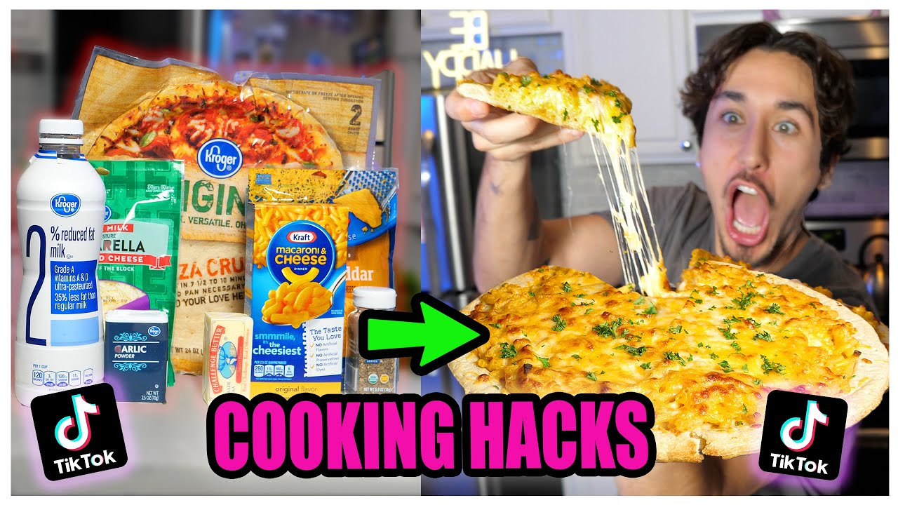We TASTED Viral TikTok Cooking Life Hacks… (UNBELIEVABLE) *Part 4*