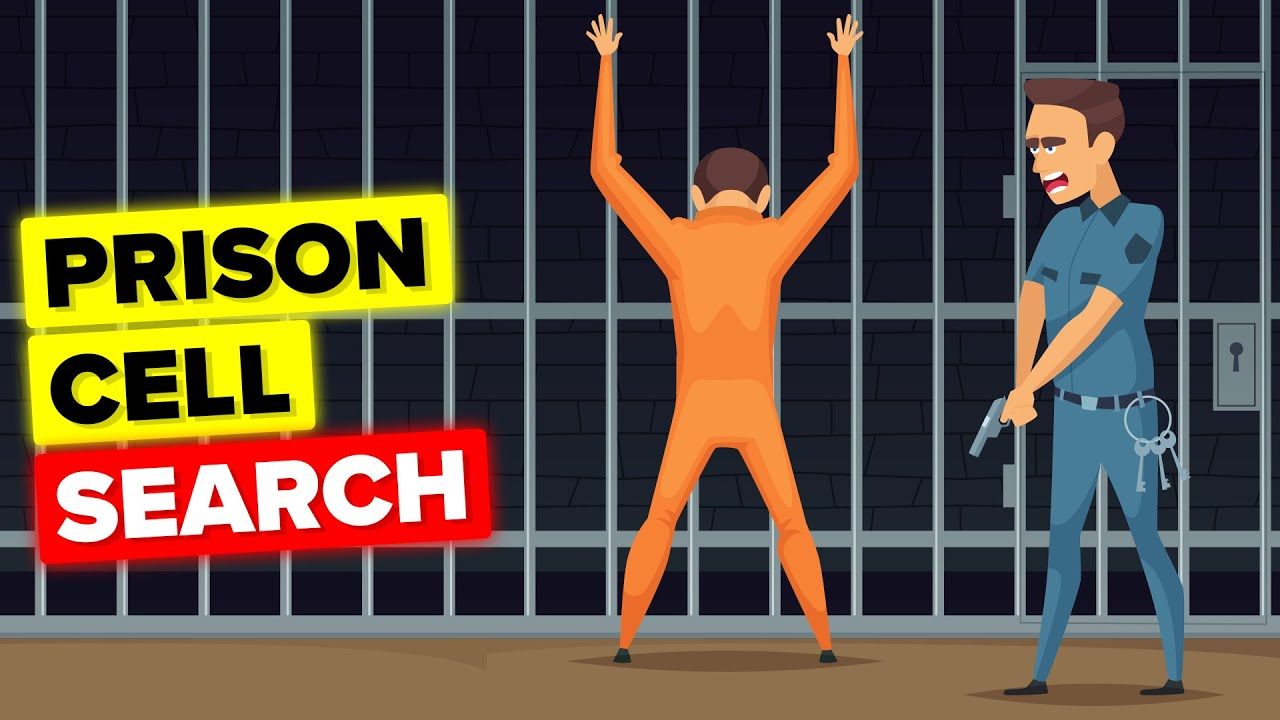 What Actually Happens During a Prison Cell Search