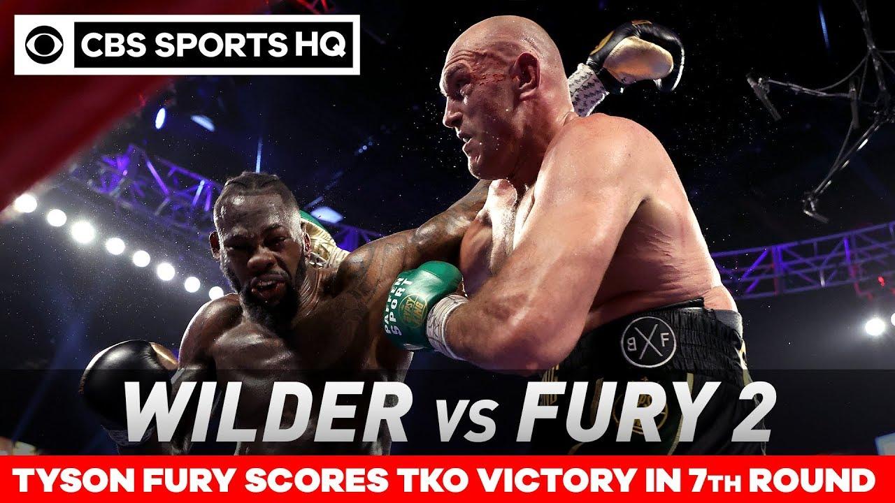 Wilder vs.Fury 2: 'Gypsy King' obliterates the 'Bronze Bomber' for TKO win | CBS Sports HQ