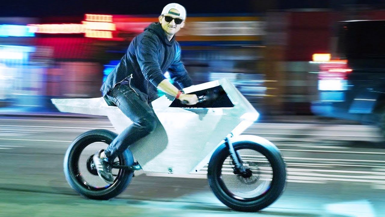 World's First Tesla Cyberbike