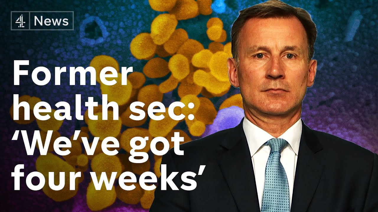 'I'm surprised we're not moving sooner' on coronavirus – Former UK Health Secretary Jeremy Hunt