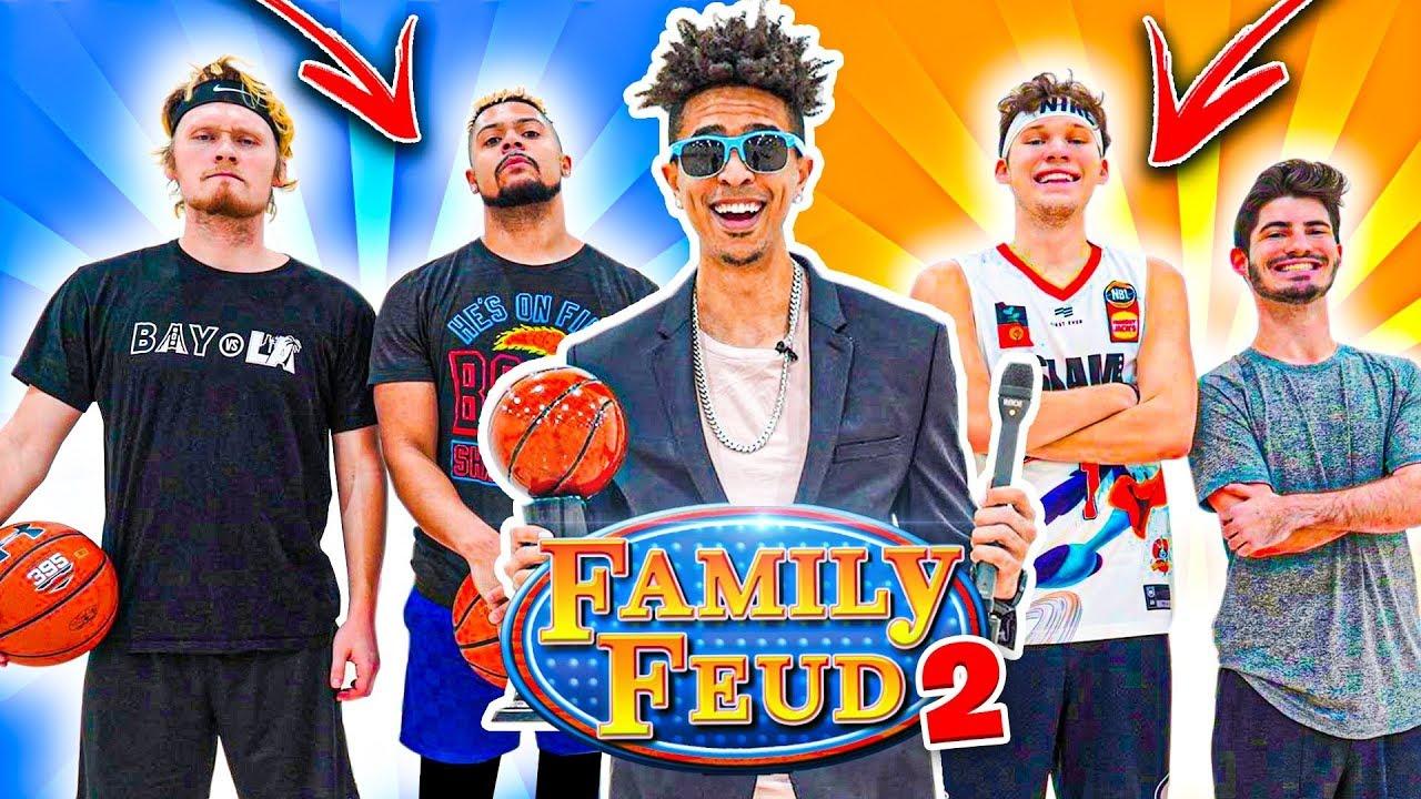 2HYPE NBA 2v2 Basketball FAMILY FEUD! *WIN NBA COURTSIDE TICKETS*