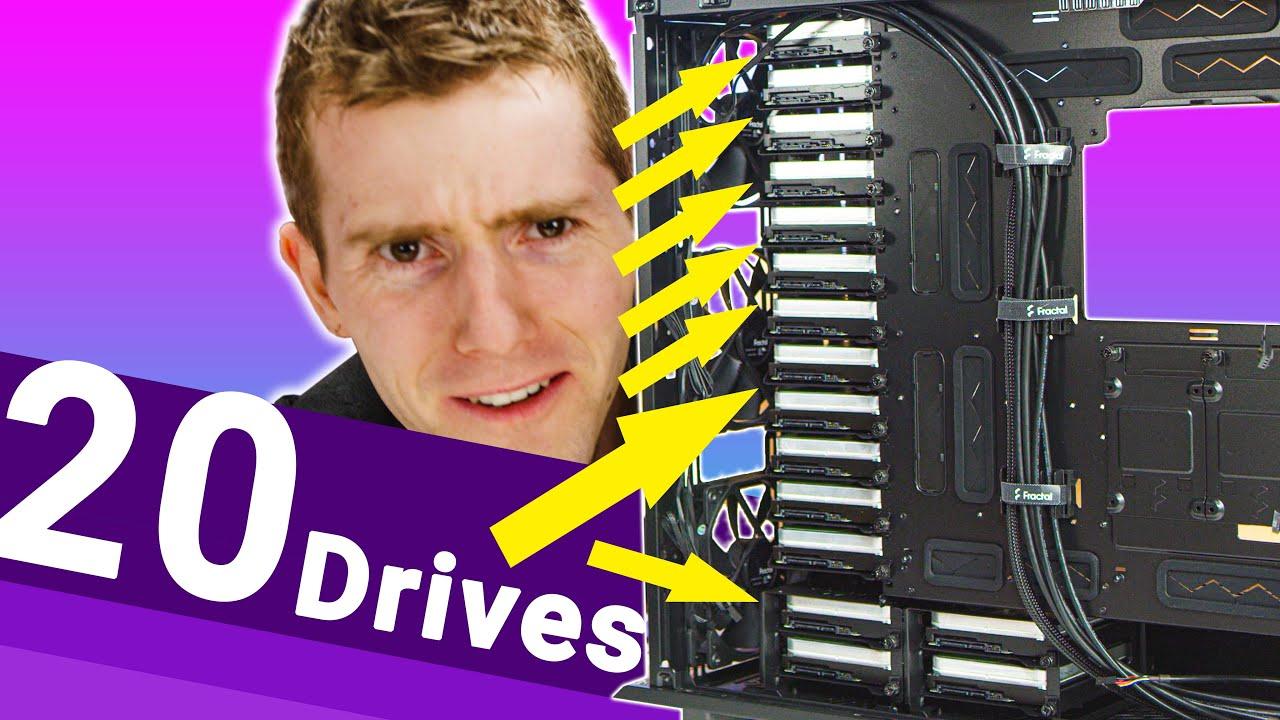 320 TERABYTES in a normal case!! – The DIY 4k editing NAS