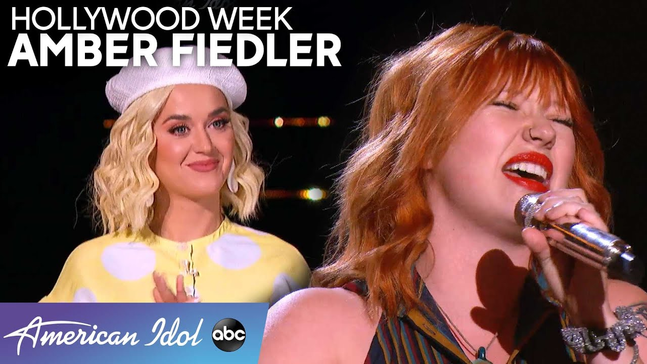 Amber Fiedler Has the Judges ON THEIR FEET During Hollywood Week – American Idol 2020