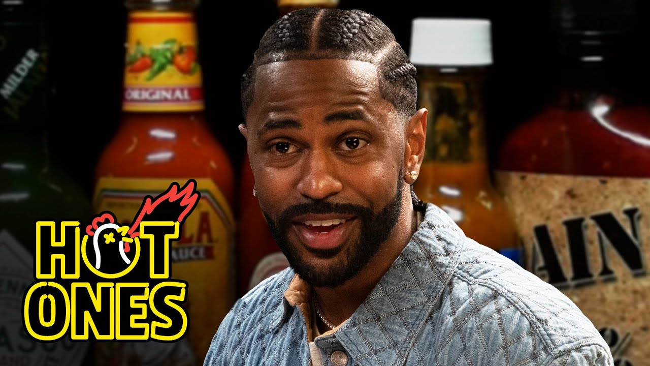 Big Sean Goes On a Spiritual Journey While Eating Spicy Wings | Hot Ones