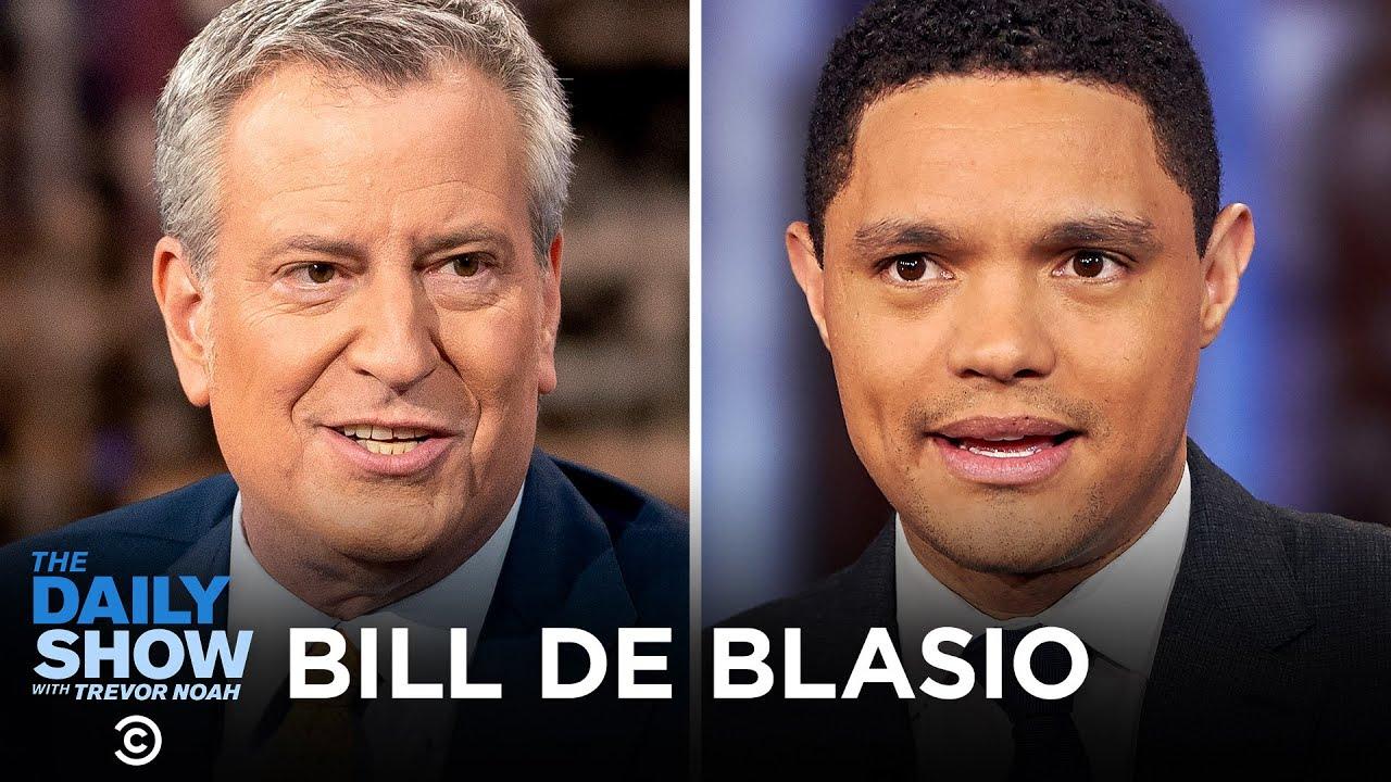 Bill de Blasio – Confronting the Coronavirus Outbreak in New York City | The Daily Show