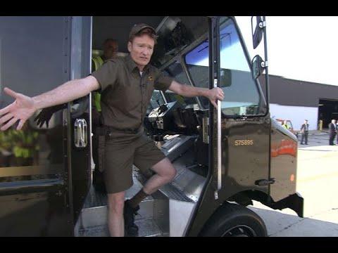 "Conan Becomes A UPS Deliveryman – ""Late Night With Conan O'Brien"""