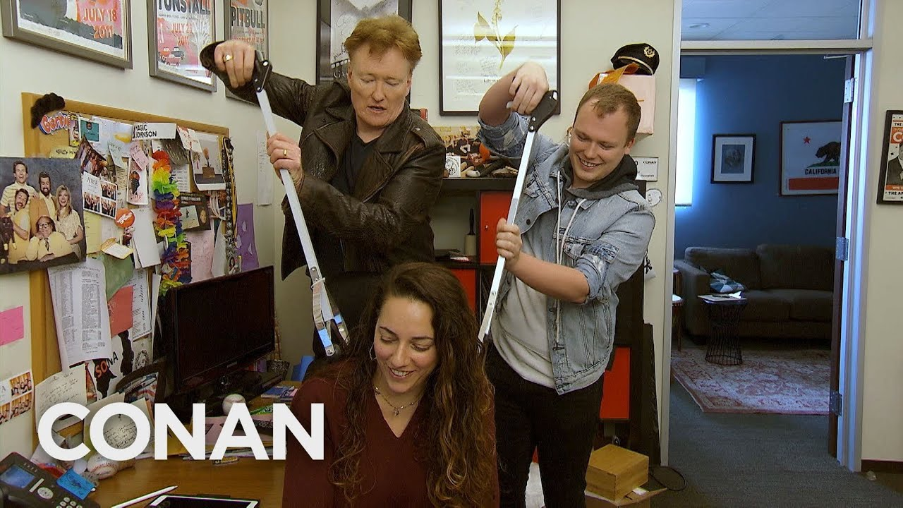 Conan Shares Coronavirus Tips With His Staff – CONAN on TBS