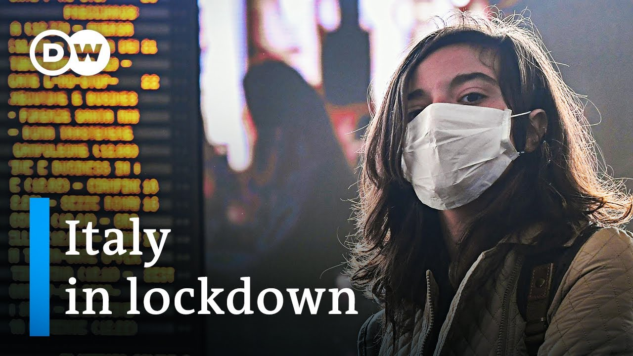Coronavirus: Italy now in complete lockdown | DW News