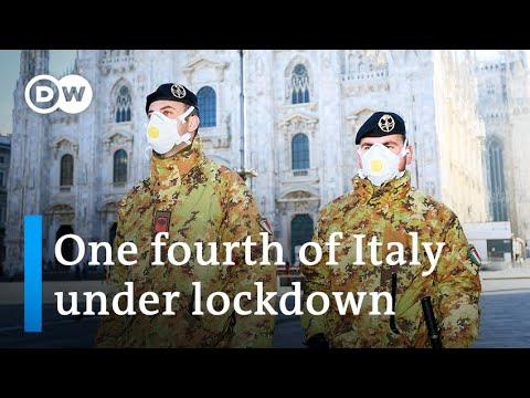 Coronavirus forces Italy to put millions under quarantine | DW News