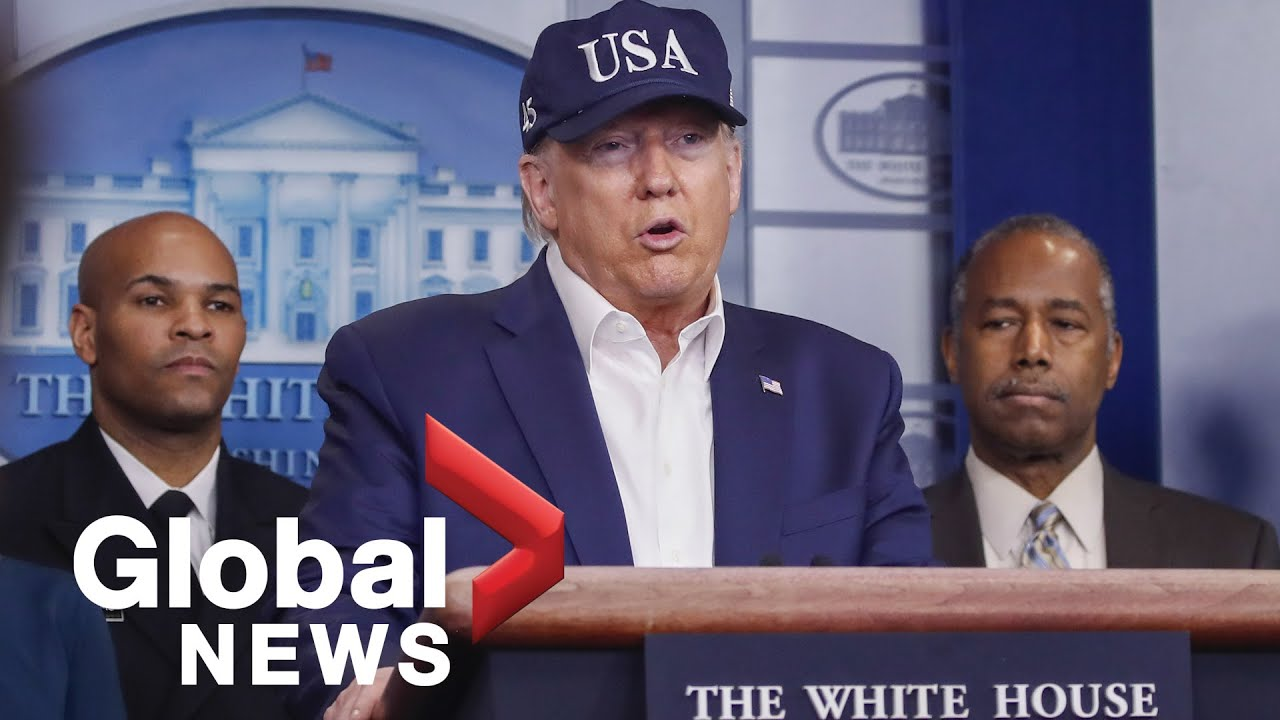 Coronavirus outbreak: Donald Trump speaks on virus response, enforces new travel restrictions | FULL