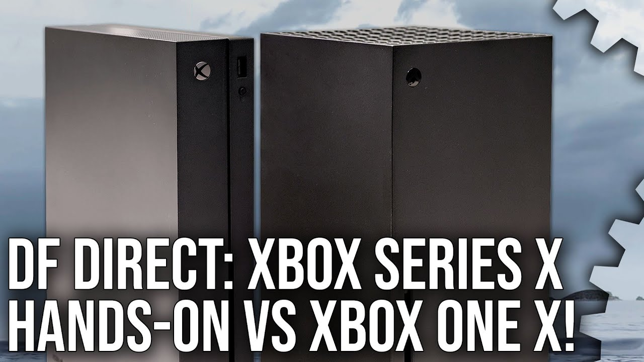 DF Direct: Hands-On With Xbox Series X  + Impressions + Xbox One X Size Comparisons!