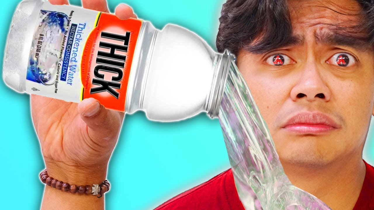 Do Not DRINK THICK WATER.. (or else)