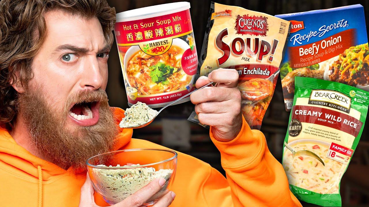 Dry Soup Mix Taste Test