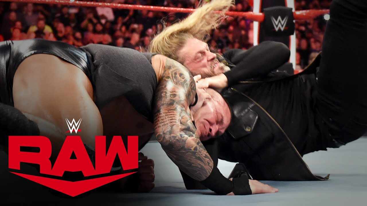 Edge goes berserk on Randy Orton and MVP: Raw, March 9, 2020