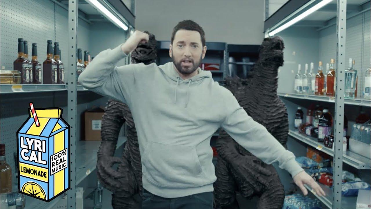 Eminem – Godzilla ft. Juice WRLD (Dir. by _ColeBennett_)