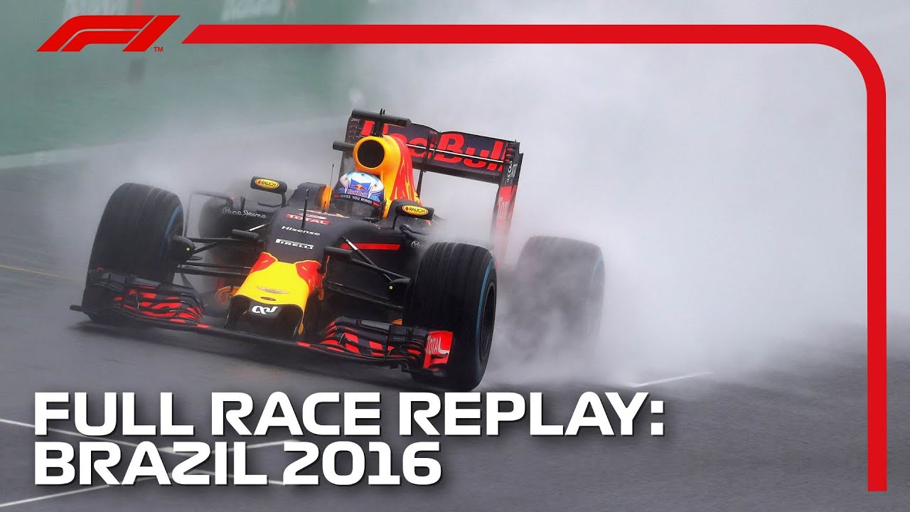 F1 REWIND – 2016 Brazil Grand Prix, Full Race Replay