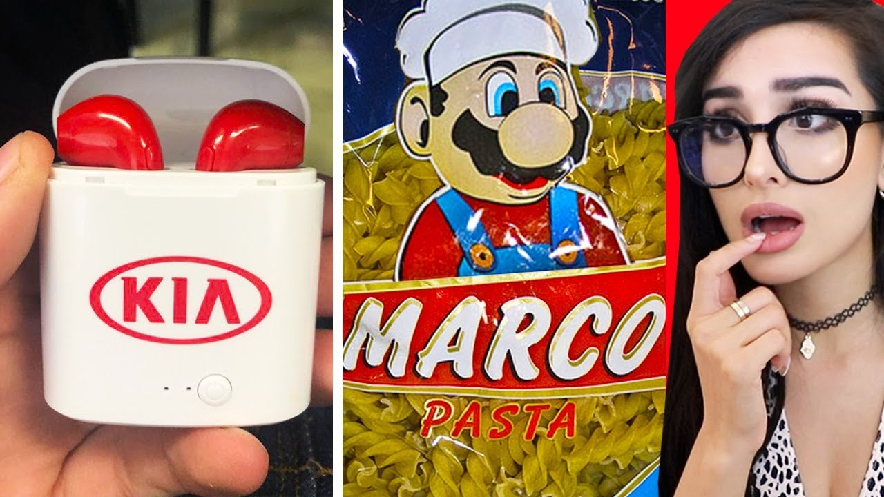 Funniest KNOCK OFF Brands