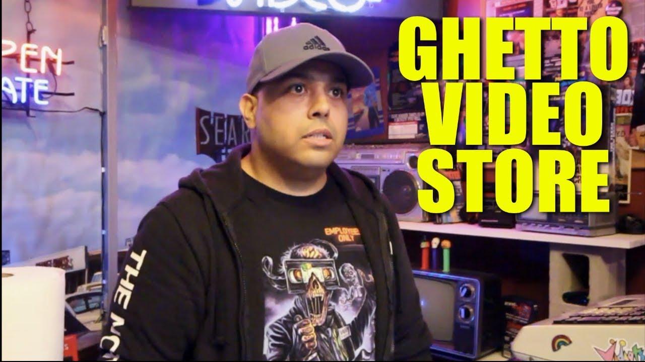 GHETTO VIDEO STORE!