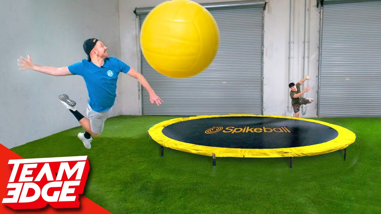 GIGANTIC Spikeball Challenge!!