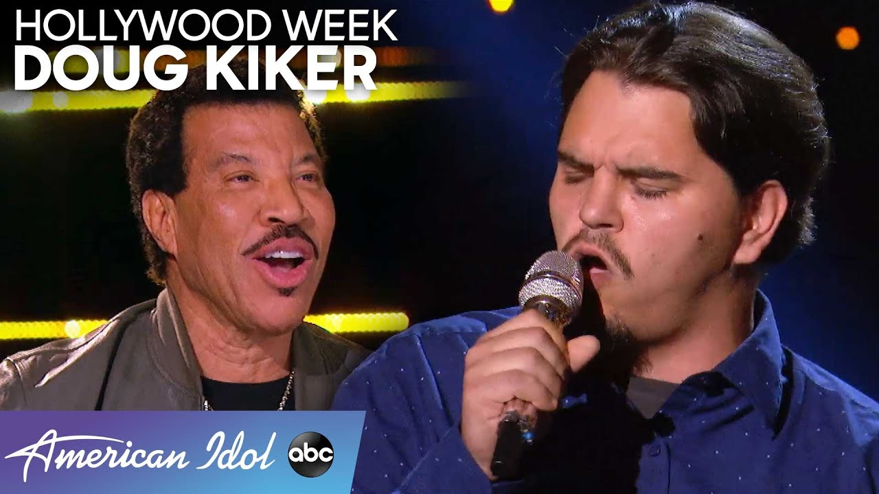 Garbage Man Doug Kiker Gives It His All During Hollywood Week – American Idol 2020