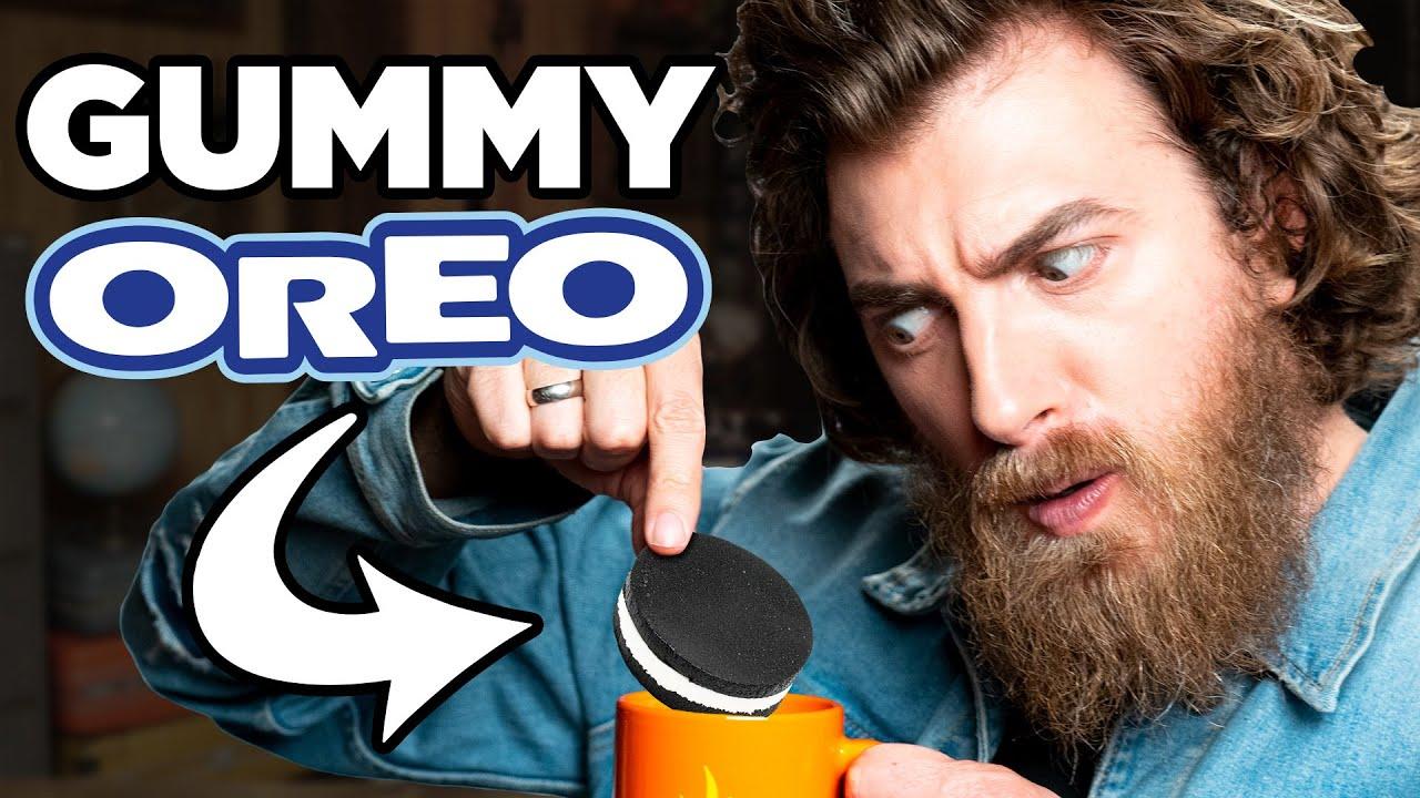 Gummy Oreo Taste Test