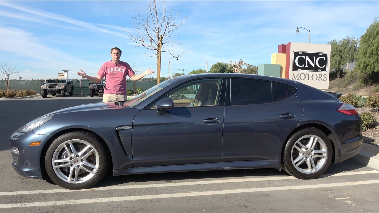 Here's Why a Used Porsche Panamera Is a Sub-$30,000 Bargain