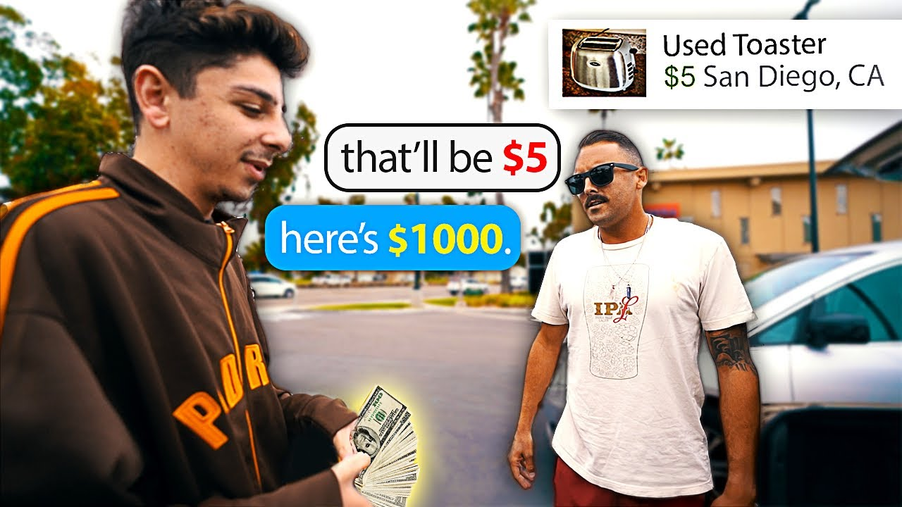 Highballing Strangers on the Internet & ACTUALLY Paying for It…