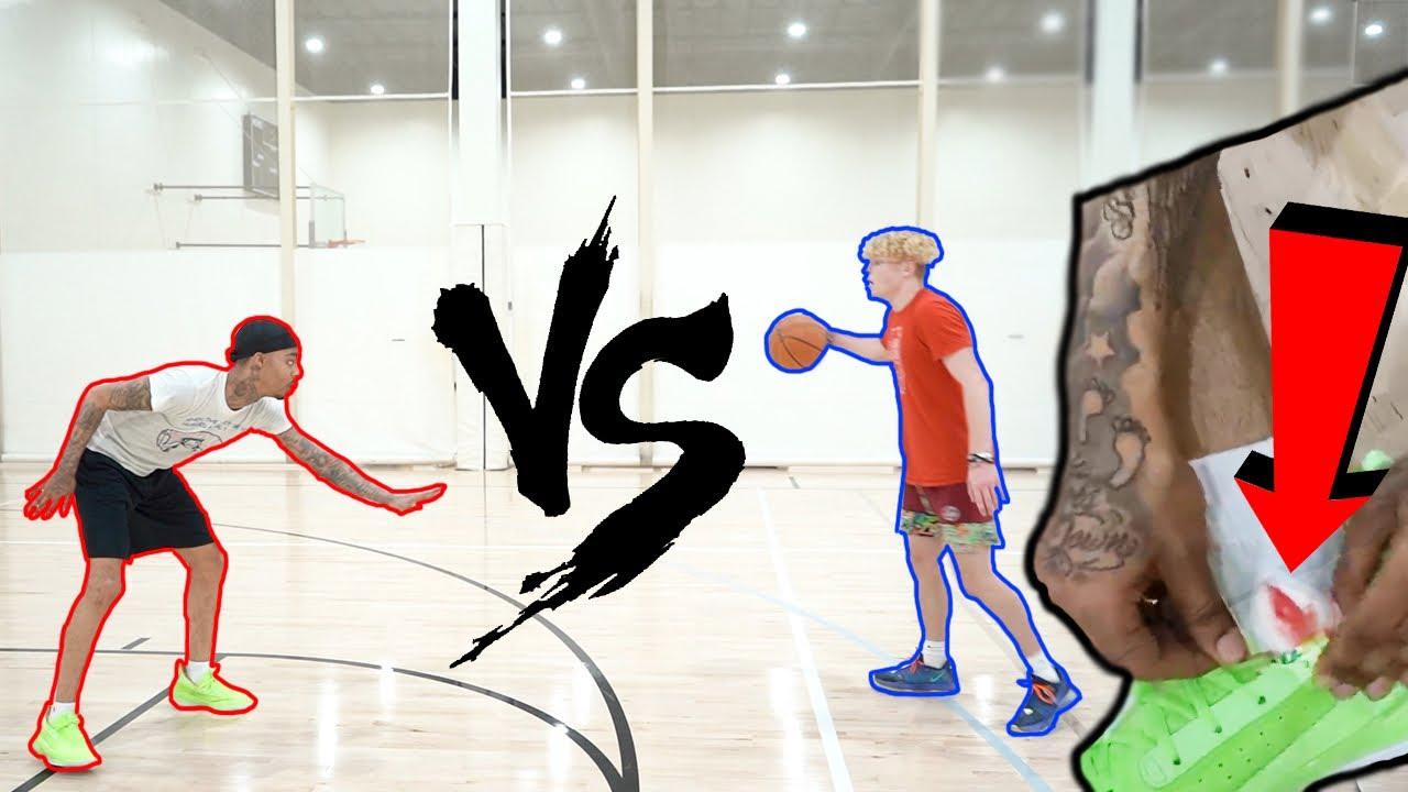 I Made FlightReact's Ankle Bleed… 1v1 Basketball!