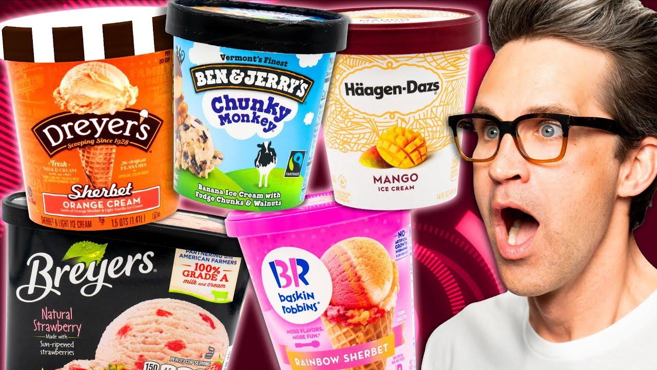 Ice Cream Taste Test Tournament (Day 2)
