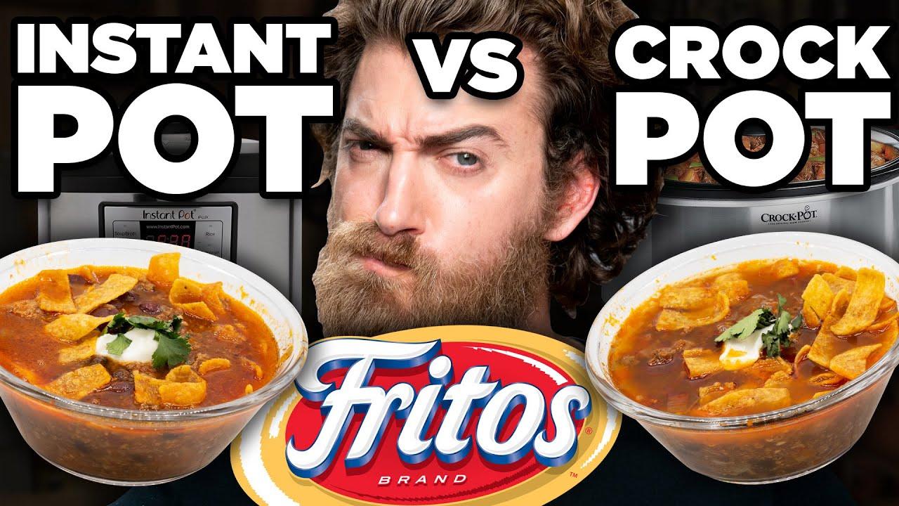 Instant Pot vs. Crockpot Taste Test