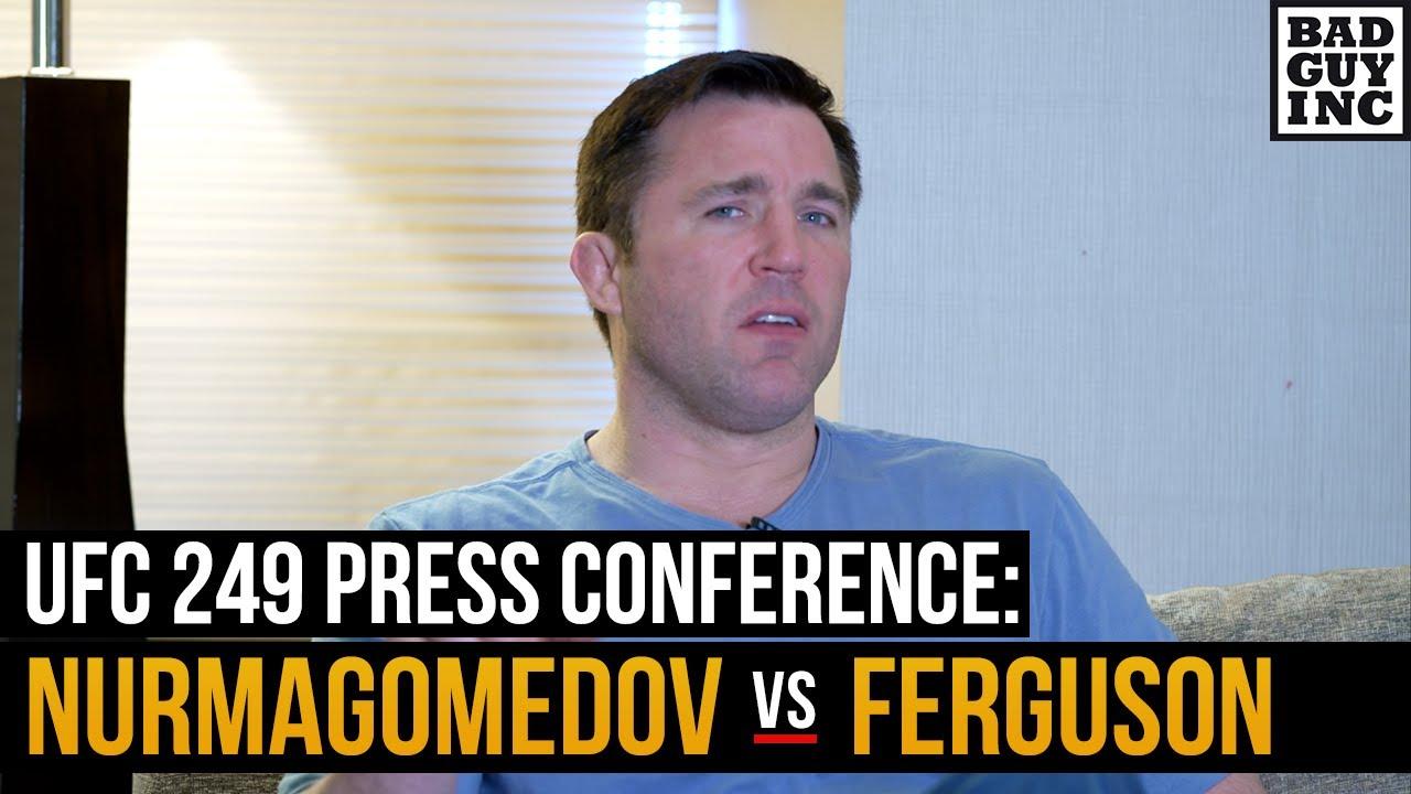 Is Tony Ferguson sparring in preparation fro Khabib Nurmagomedov?